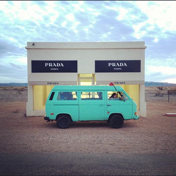 Marfa Prada Store